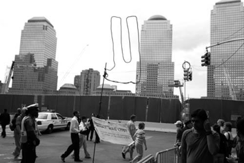 Ground zero, 9/11/08