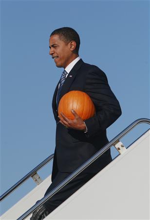 Obama porta a casa la zucca