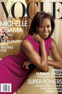 Michelle Obama su Vogue marzo